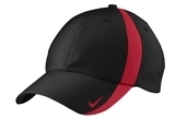 Nike Golf Nike Sphere Dry Cap Black with Gym Red Thumbnail