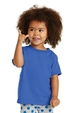 Toddler 5.4-oz 100 Cotton T-shirt Royal Thumbnail