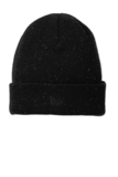 New Era Speckled Beanie Black with Graphite Thumbnail