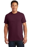 Ultra Cotton 100 Cotton T-shirt Maroon Thumbnail