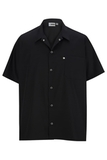Snap Front Utility Shirt Black Thumbnail