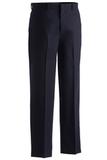 Men's Poly / Wool Flat Front Pant Navy Thumbnail