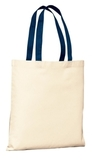 Budget Tote Natural with Navy Thumbnail