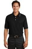 Nike Golf Dri-FIT Classic Tipped Polo Black Thumbnail