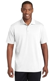 Sport-Tek PosiCharge RacerMesh Polo White Thumbnail