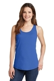 Women's 5.4 oz. 100 Cotton Tank Top Royal Thumbnail