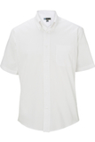 Men's Pinpoint Oxford Shirt SS White Thumbnail