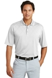 Nike Golf Dri-FIT Cross-over Texture Polo Shirt White Thumbnail