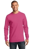 Essential Long Sleeve T-shirt Sangria Thumbnail
