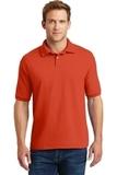 Economy Uniform Polo 5.2 Oz Jersey Knit Orange Thumbnail