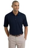 Nike Golf Shirt Dri-FIT Textured Polo Navy Thumbnail