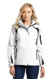 Women's All-season II Jacket White with Black Thumbnail