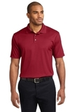 Performance Fine Jacquard Polo Shirt Rich Red Thumbnail