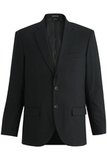 Redwood & Ross Signature Men's Single Breasted Poly/wool Suit Coat Black Thumbnail