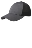 Pique Mesh Cap Iron Grey with Black Thumbnail