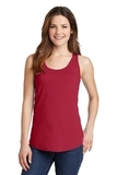 Women's 5.4 oz. 100 Cotton Tank Top Red Thumbnail