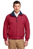 Challenger Jacket True Red with True Navy Thumbnail