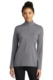 Ladies Exchange 1.5 Long Sleeve 1/2-Zip Grey Heather Thumbnail
