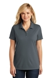 Women's Dry Zone UV MicroMesh Polo Graphite Thumbnail