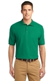 Extended Size Silk Touch Polo Shirt Kelly Green Thumbnail
