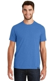 New Era Heritage Blend Crew Tee Royal Heather Thumbnail