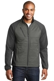 Hybrid Soft Shell Jacket Smoke Grey with Grey Steel Thumbnail
