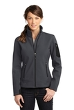 Women's Eddie Bauer Rugged Ripstop Soft Shell Jacket Grey Steel with Black Thumbnail