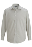 Men's No-iron Stay Collar Dress Shirt Silver Thumbnail