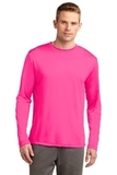 Competitor Long Sleeve Tee Neon Pink Thumbnail