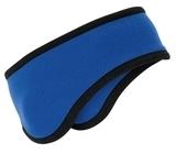 Two-color Fleece Headband Royal Thumbnail
