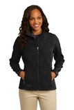 Women's Eddie Bauer Shaded Crosshatch Soft Shell Jacket Black Thumbnail