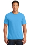 50/50 Cotton / Poly T-shirt Aquatic Blue Thumbnail