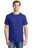Beefy-t 100 Cotton T-shirt With Pocket Deep Royal Thumbnail