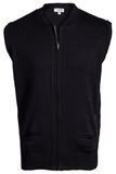 Two Pocket Zipper Vest Navy Thumbnail