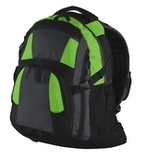 Urban Backpack Bright Lime with Magnet and Black Thumbnail