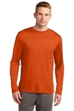 Competitor Long Sleeve Tee Deep Orange Thumbnail