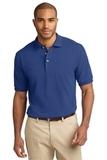 Tall Pique Knit Polo Shirt Royal Thumbnail