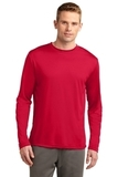 Competitor Long Sleeve Tee True Red Thumbnail