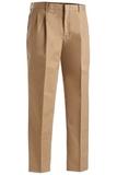 Men's Pleated Pant Khaki Thumbnail