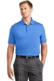 Nike Golf Dri-FIT Players Polo with Flat Knit Collar Pacific Blue Thumbnail