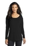 Women's OGIO Luuma Long Sleeve Tunic Blacktop Thumbnail