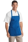 Medium Length Apron With Pouch Pockets Royal Thumbnail
