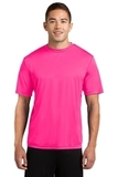 Competitor Tee Neon Pink Thumbnail