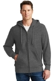 Super Heavyweight Full-zip Hooded Sweatshirt Graphite Heather Thumbnail