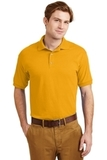 Ultra Blend 5.6-ounce Jersey Knit Sport Shirt Gold Thumbnail