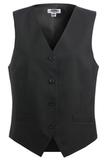 Women's Economy Vest Black Thumbnail