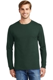 Tagless 100 Comfortsoft Cotton Long Sleeve T-shirt Deep Forest Thumbnail