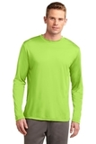 Competitor Long Sleeve Tee Lime Shock Thumbnail