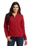 Women's Value Fleece Jacket True Red Thumbnail