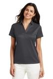 Women's Performance Fine Jacquard Polo Shirt Grey Smoke Thumbnail
